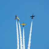 Militaire vliegtuigen Stock Afbeelding