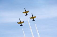 Militaire vliegtuigen Royalty-vrije Stock Foto