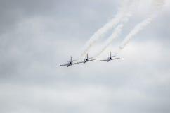 Militaire vliegtuigen Royalty-vrije Stock Fotografie