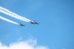 Militaire vliegtuigen Stock Foto