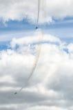 Militaire vliegtuigen Royalty-vrije Stock Afbeeldingen
