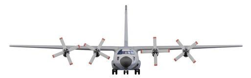 Militaire vliegtuigen geïsoleerdei mening stock illustratie