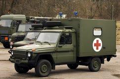 Militaire voertuigen Royalty-vrije Stock Afbeelding