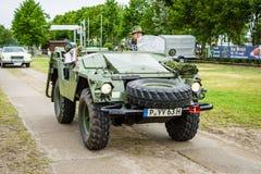 Militaire voertuigen Volvo L3304, 1963 Royalty-vrije Stock Foto's