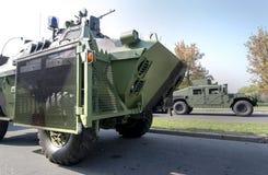 Militaire voertuigvrachtwagen Royalty-vrije Stock Afbeelding
