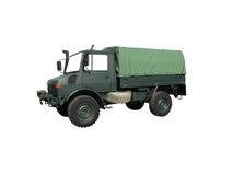 Militaire vrachtwagen Stock Afbeelding