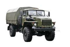 Militaire vrachtwagen Royalty-vrije Stock Afbeeldingen