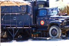 Militaire vrachtwagen Stock Afbeeldingen