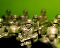 Militairen 10 royalty-vrije stock afbeelding