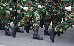Militairen Stock Fotografie