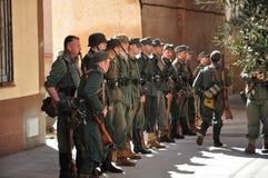 Militairen Stock Foto's