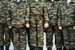Militairen royalty-vrije stock foto's