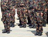 militairen Royalty-vrije Stock Foto