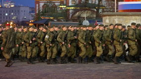 militairen stock video