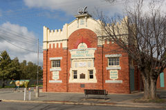 Militairen Memorial Hall Stock Afbeelding