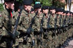Militairen van het representatieve bedrijf Royalty-vrije Stock Afbeeldingen