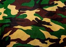 Militairenstof Royalty-vrije Stock Foto's