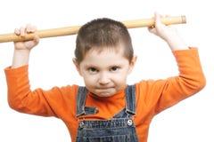 Militant boy Stock Photo