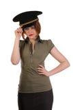 Militant girl Stock Photos