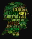 Militar Imagem de Stock