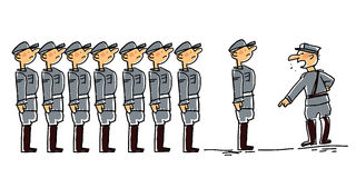 Militar Imagens de Stock