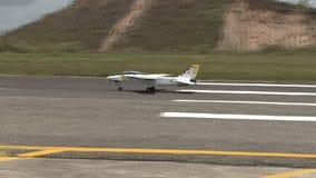Militar aero modellera arkivfilmer