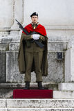 Militar ignoti rome (piazza venezia). Altar of the Fatherland in Rome where there are military war dead Stock Images
