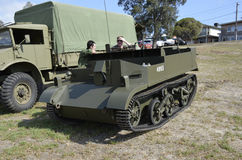 militare Bren Gun Carrier Fotografie Stock