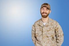 Militare dell'esercito americano fotografia stock libera da diritti