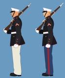 Militares americanos Imagen de archivo