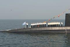 """Militares del día del †de la celebración """"- marina de guerra Rusia Fotos de archivo"""
