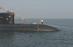 """Militares del día del †de la celebración """"- marina de guerra Rusia Imágenes de archivo libres de regalías"""