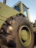 Militares grandes del vehículo de camino Foto de archivo libre de regalías
