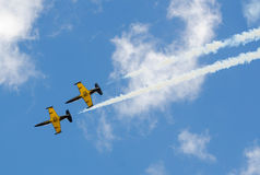 Militari degli aerei Fotografia Stock Libera da Diritti
