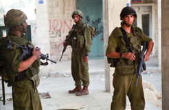 Militari israeliani Immagine Stock