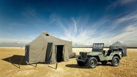 Militarna baza fotografia stock