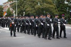 Militarna Ceremonia - Holandie Fotografia Stock