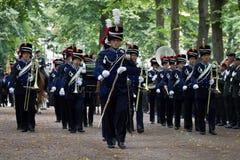 Militarna Ceremonia - Holandie Fotografia Royalty Free