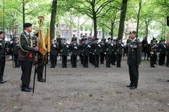 Militarna Ceremonia - Holandie Zdjęcie Stock