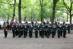Militarna Ceremonia - Holandie Zdjęcie Royalty Free