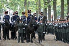 Militarna Ceremonia - Holandie Obrazy Royalty Free