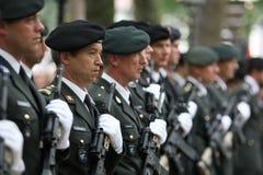 Militarna Ceremonia - Holandie Obraz Stock