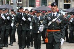 Militarna Ceremonia - Holandie Obraz Royalty Free