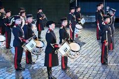 militarna festiwal muzyka Obraz Stock