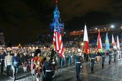 militarna festiwal muzyka Obrazy Royalty Free