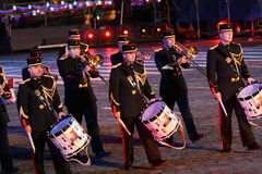 militarna festiwal muzyka Fotografia Stock