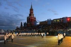 militarna festiwal muzyka Zdjęcia Stock