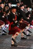 militarna festiwal muzyka Zdjęcie Stock