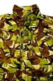 Militarna kamuflaż kurtka Obraz Stock