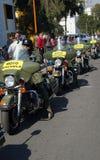 Militarna motocykl szkoła w Mexico Obraz Stock